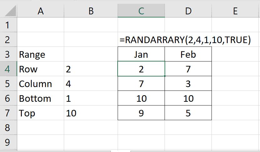 FILTER function, RANDARRAY function, SORT function, SORTBY function, UNIQUE function
