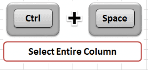 how to delete column in excel